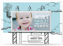 Birthday Billboard Children&#039;s Birthday Party Invitations