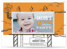 Birthday Billboard Children's Birthday Party Invitations