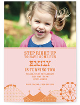 Cotton Candy Children&#039;s Birthday Party Invitations