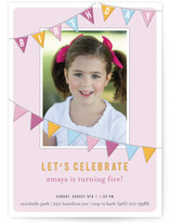 Fun Flags Children&#039;s Birthday Party Invitations