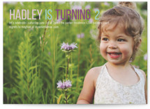 Birthday Type Children's Birthday Party Invitations