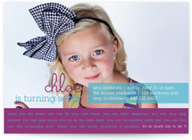So Much Fun Children's Birthday Party Invitations