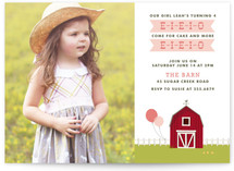 E-I-E-I-O Children's Birthday Party Invitations