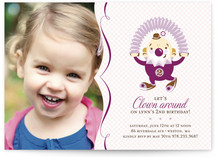 Clowning Around! Children&#039;s Birthday Party Invitations