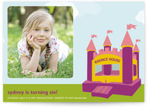 Spring Children's Birthday Party Invitations