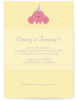 These Little Piggies Children's Birthday Party Invitations