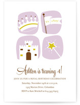 royal celebration Children&#039;s Birthday Party Invitations