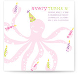 All Arms Children's Birthday Party Invitations