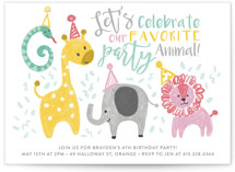 Jungle Party Animals by Sara Berrenson