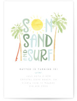 Sun Sand and Surf by Maggie Maeve