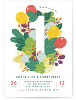 Colorful Cactus Party by Four Wet Feet Studio