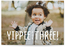 yippee for three! by Susan Asbill