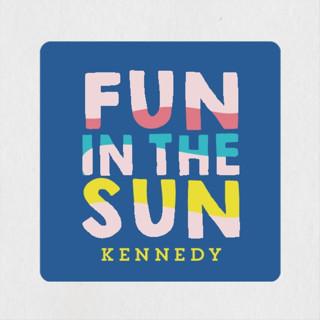 Fun Sun Children's Birthday Party Stickers
