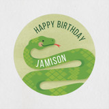 Children's Birthday Party Stickers