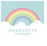 Pastel Rainbow Sparkles by Maria Alou