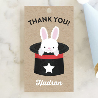 Before Your Very Eyes Children's Birthday Party Favor Tags