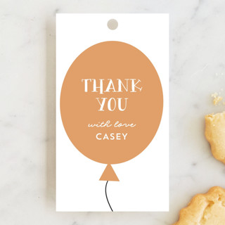 make and color Children's Birthday Party Favor Tags