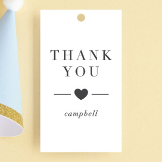 Lovely Children's Birthday Party Favor Tags