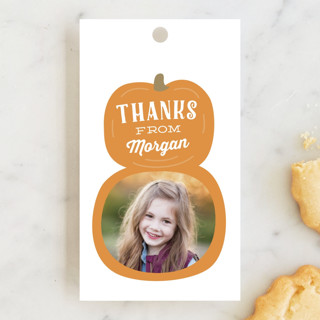 Pumpkin Patch Children's Birthday Party Favor Tags