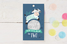Children's Birthday Party Favor Tags