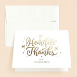 Foil-Pressed Baptism and Christening Thank You Cards