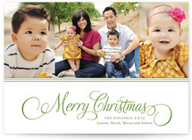 Sweet and Simple Merry Christmas Photo Cards