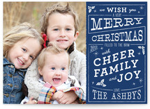 Christmas Cafe Christmas Photo Cards
