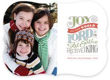 Joy to the World Christmas Photo Cards