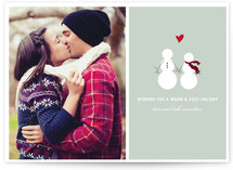 Baby It&#039;s Cold Outside Christmas Photo Cards