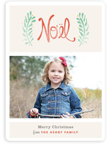 Antique Noel Christmas Photo Cards