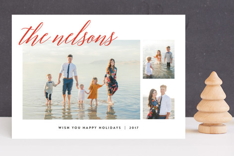 Comfy Cozy Christmas Photo Cards