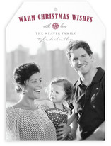 Peaceful Wishes Christmas Photo Cards