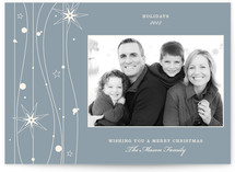 Twilight Stars Christmas Photo Cards