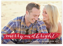 Merry Banner Christmas Photo Cards