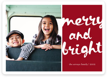 Jolly and Bright Christmas Photo Cards