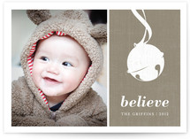 Sleigh Bell Christmas Photo Cards