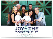 Joyful Spirit Christmas Photo Cards