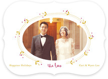 Vine and Berry Christmas Photo Cards