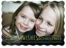 Warmest Wishes Christmas Photo Cards