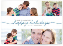 Merrily Handwritten Christmas Photo Cards