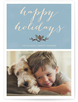 Christmas Pinecone Christmas Photo Cards