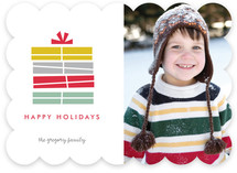 Stacked Christmas Photo Cards