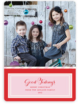Bake Shop Christmas Photo Cards
