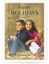 Editorial Christmas Photo Cards