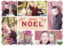 Joyous Noel Christmas Photo Cards