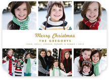 Urbane Christmas Photo Cards