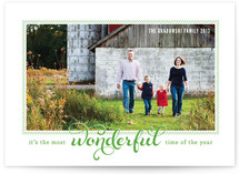 Peppermint Crew Christmas Photo Cards