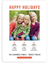 In a Nutshell Christmas Photo Cards