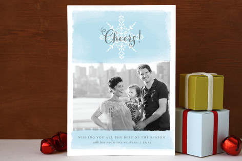 Sunshine & Snow Christmas Photo Cards