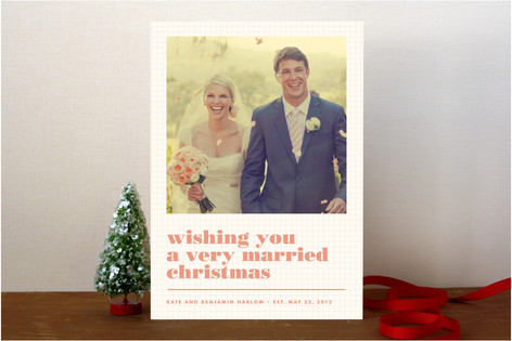 Textbook Christmas Photo Cards